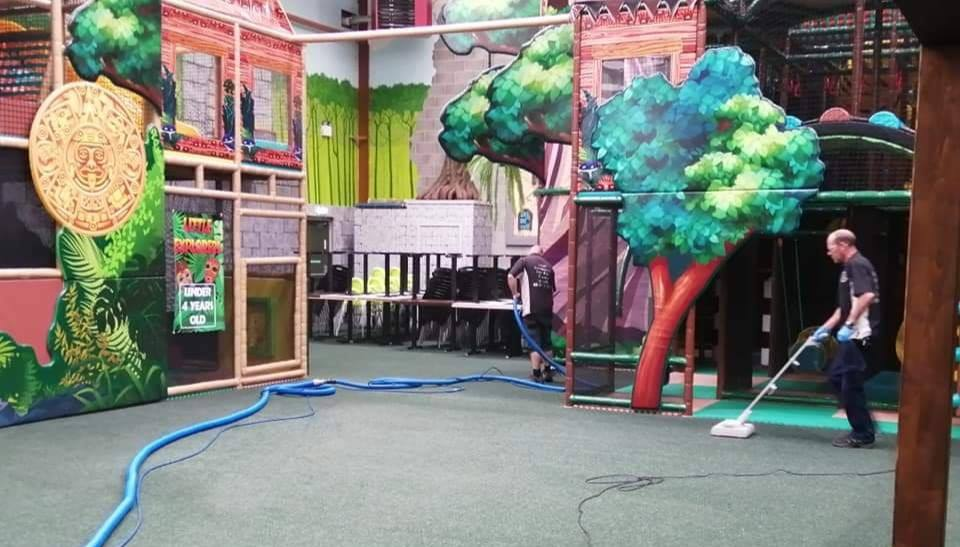 play centre carpet cleaning